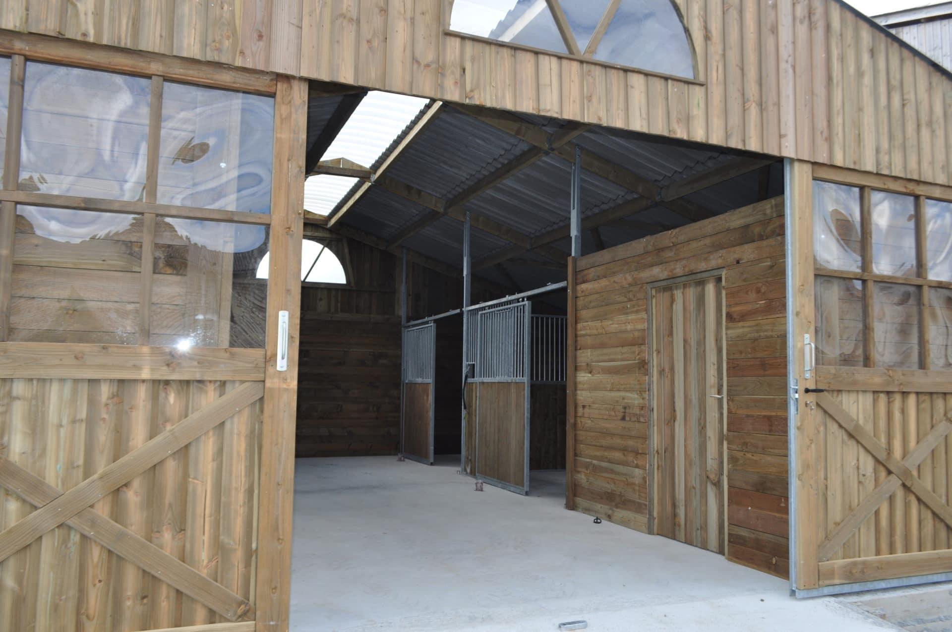 barn ecurie de la madeleine installation