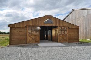 barn ecurie de la madeleine pension chevaux